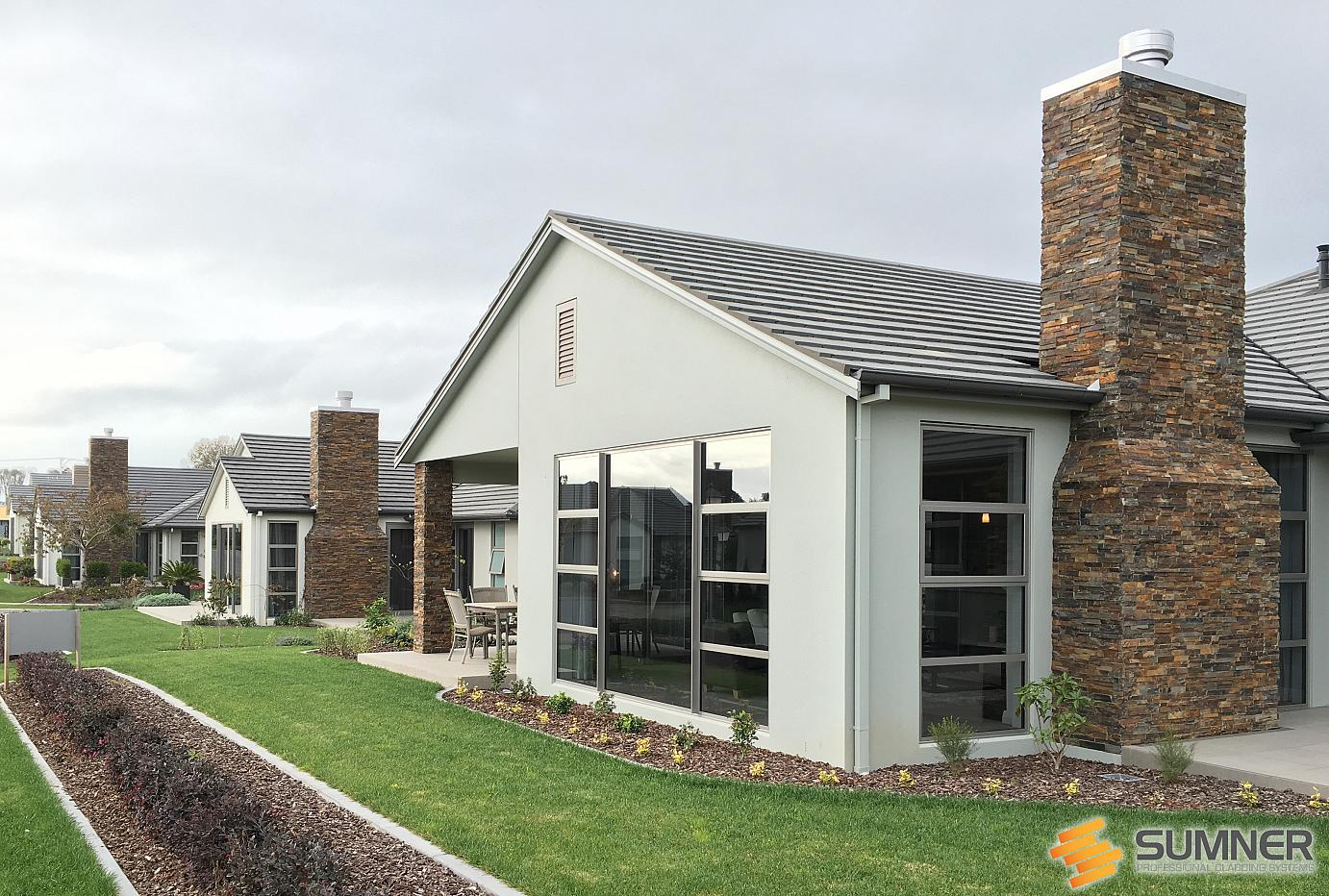 SUMNER Schist Cladding System on Bethleham Shores by NZStone