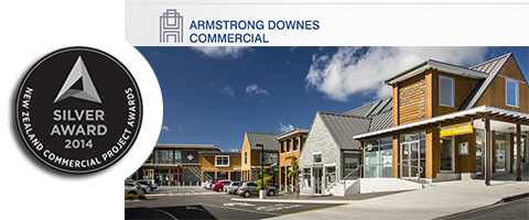 Silver Medal Commercial Projects Award for Construction of Churton Park Village